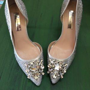 I N C Silver Heels